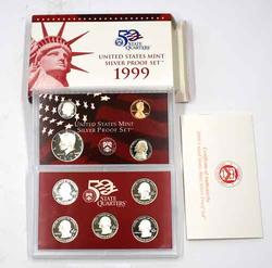 Scarcer 1999 US Silver Proof Set
