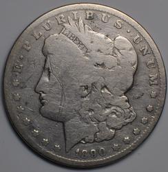 1890 Carson City Raw  Morgan Dollar