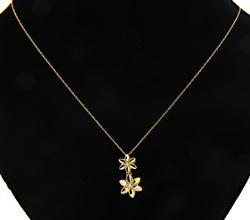 Cute Flower Pendant Necklace