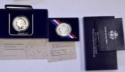 1995 Special Olympics 2 PR 2 BU Silver $'s