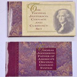 Jefferson Coin and Currency Set