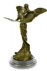 Art Nouveau Bronze Sculpture Figurine