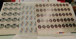 Stamp sheets, BiCentennial  $20.20 face