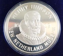 Henry Hudson Silver Half Moon Coin