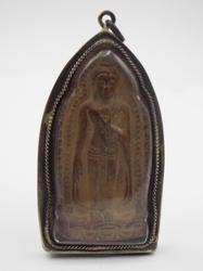 Large Cambodian Buddha Amulet Pendant Khmer Artifact