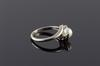Ladies Pearl Cocktail Ring in Solid Gold