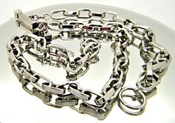 18kt Gold Necklace & Bracelet Set
