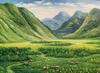 Beautiful Large Landscape Oil on Canvas