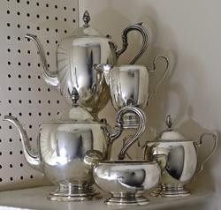 Lovely 5 Piece Sterling Tea Set