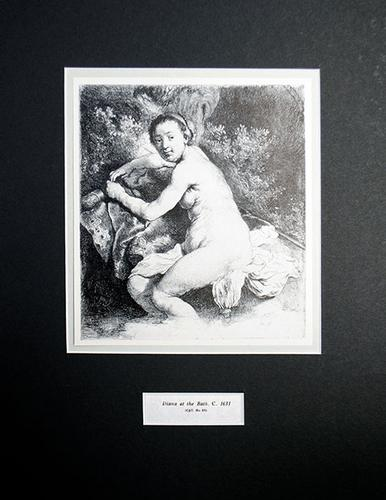Rembrandt, Diana At The Bath
