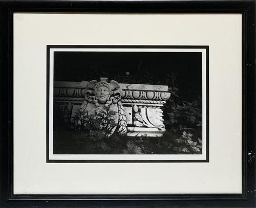 Stone Garden Signed Photogravure