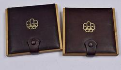 2 x 1974 Canada Olympic Proof Coin Set