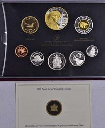 2008 Royal Canadian Mint Silver Proof Set