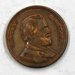 Grant Washington Token Circa 1880 Rarity 7 ! !