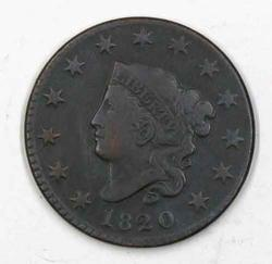 1820 Small Date N- 7 Rarity 2  Large Cent