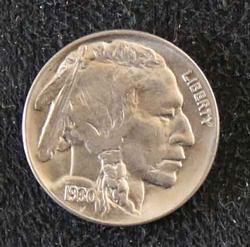 Choice Toned BU 1936 Buffalo Nickel