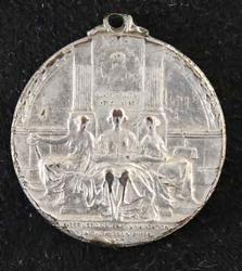 1909 Hudson Fulton ANS Silver Medal