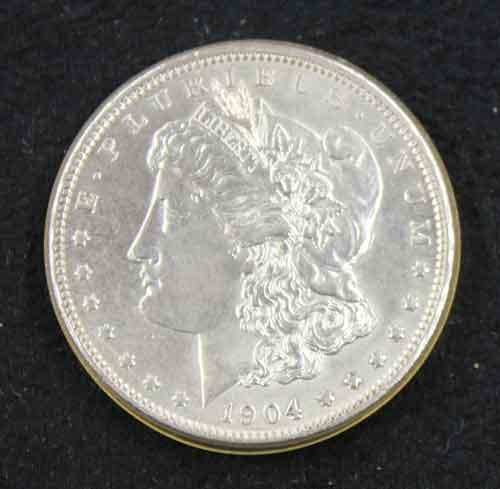 Choice Gem BU 1904 O Morgan Dollar