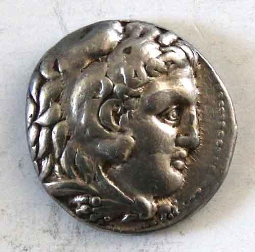 Alexander the Great 336-323 BC  Silver Tetradrachma