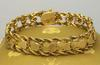 Beautiful Gold Heart Bracelet, 7in