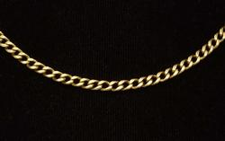 16.5in Gold Link Necklace