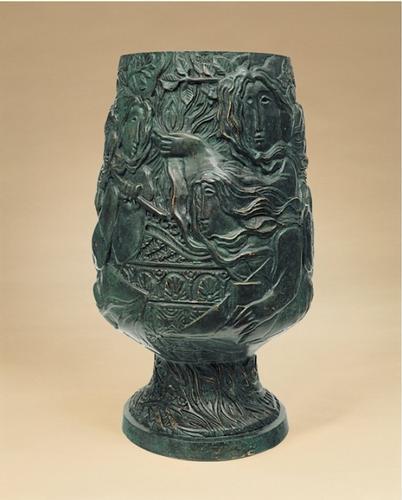 Alvar Sunol Sculpture Los Cuatro Elementos de la Naturaleza