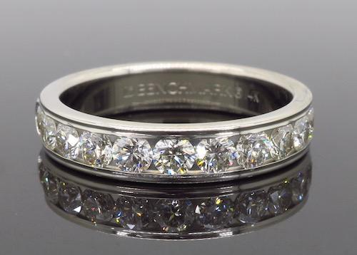 Channel Set Diamond Band, .96CTW