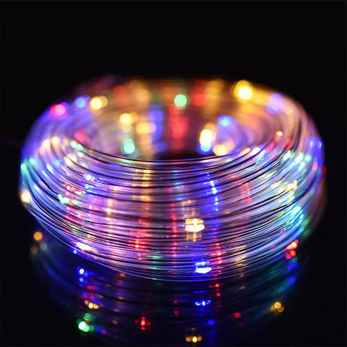 12M Battery 120LED String Light 8 Modes Remote Control