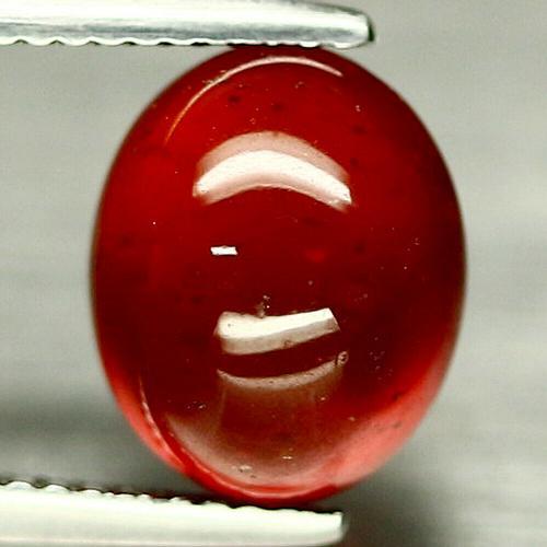 Lavish chianti red 5.62ct Hessonite Garnet