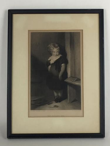 Charming Antique Engraving,