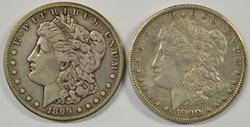 2 Scarce 'S' Mint Morgan Dollars from 1899 & 1900