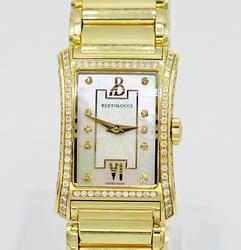 Ladies 18K Bertolucci Fascino Diamond Watch
