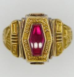 10KT Yellow Gold Baldswinsville Academy & Central School Class Ring