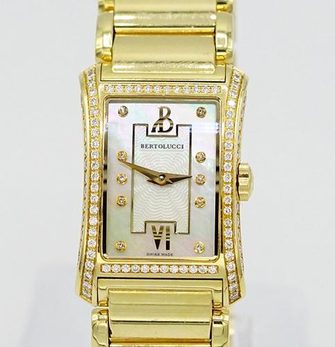 Ladies 18K Bertolucci Fascino Diamond Watch