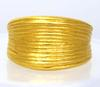 18K Gold Dome Band, Size 8.5