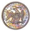 1875 Seated Liberty Quarter - Circulated