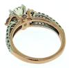 Rose White Gold 1.26ctw Round Diamond Ring