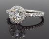 Halo Style .82CTW Diamond Engagement Ring