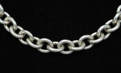 Sterling Link Chain, 17.5in