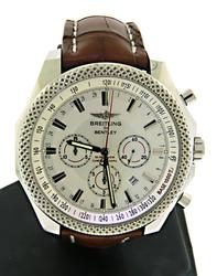 Men's Breitling Bentley Barnato White Dial Watch