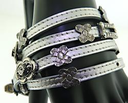 Gas Bijoux Leather Bracelet