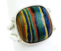 Desert Rose Trading Colored Gemstone Sterling Ring