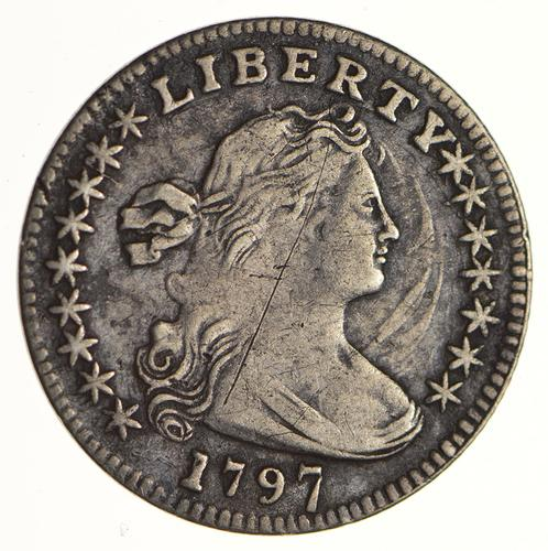 1797 Draped Bust Half Dime - Circulated