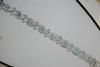 14kt White Gold Aquamarine & Diamond Bracelet