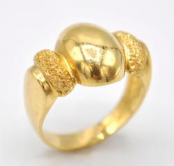 14kt Solid Yellow Gold Cocktail Ring