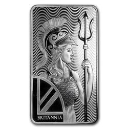 Royal Mint 10 oz Silver Bar Britannia