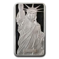 Metals Arts Mint 10oz Bar Statue of Liberty