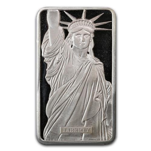 Metals Arts Mint 10oz Bar Statue of Liberty