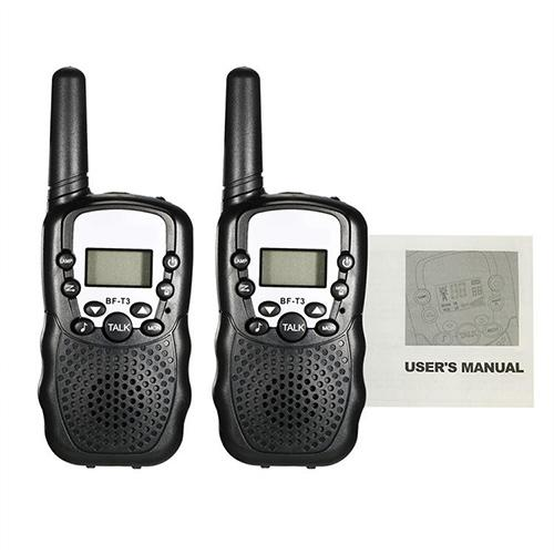 Two Way Radio Walkie Talkies Twin Pack Soldier Transceiver ...