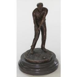 Ben Hogan Sports Memorabilia Golf Club Bronze Figure